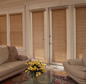 Steves Drapery Inspire 212 Premium Finishes Faux Wood Blinds